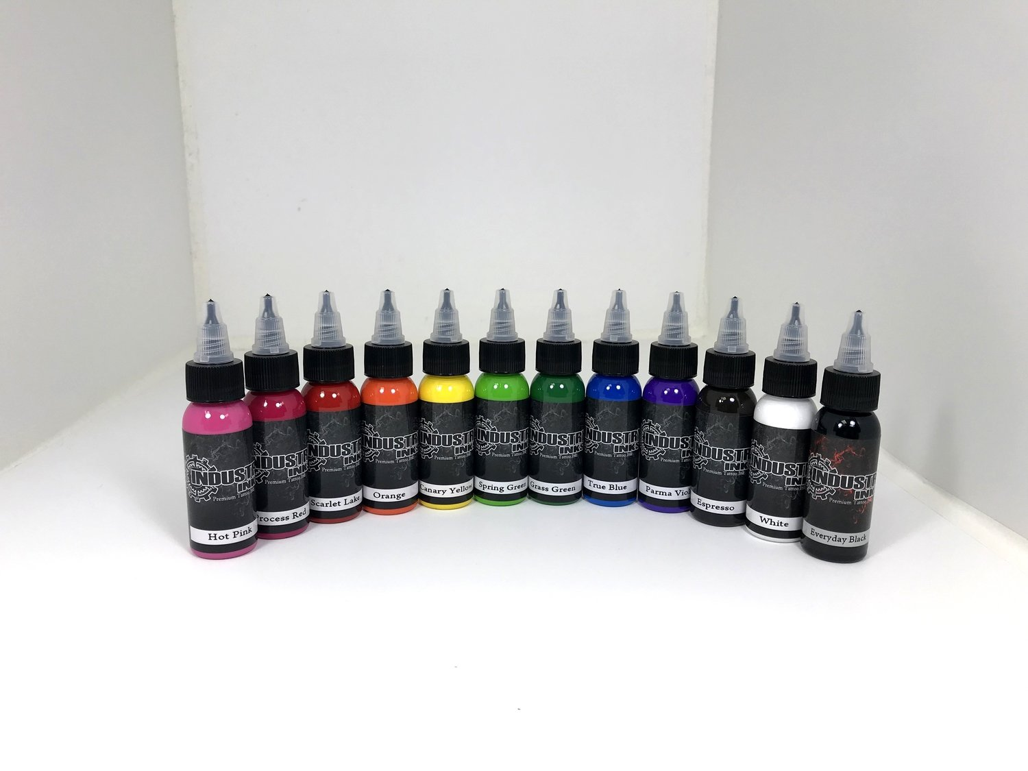 Industry Inks 2oz Sample Pack 12 Colors
